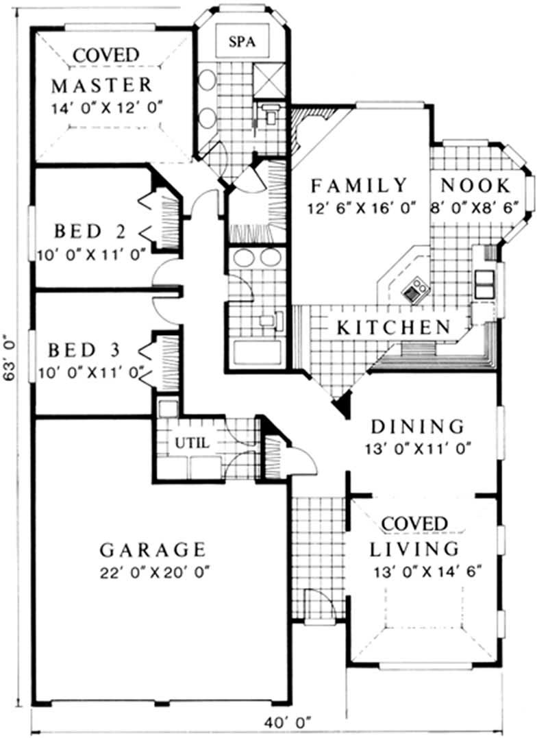 Traditional Feng Shui House Plans Home Design M 1709 2289