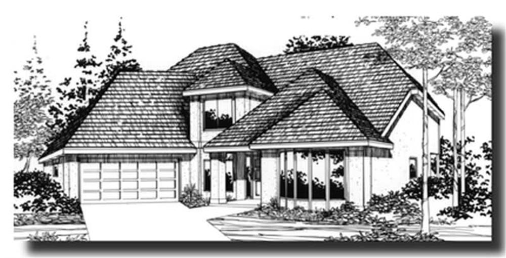 Main image for house plan # 2802