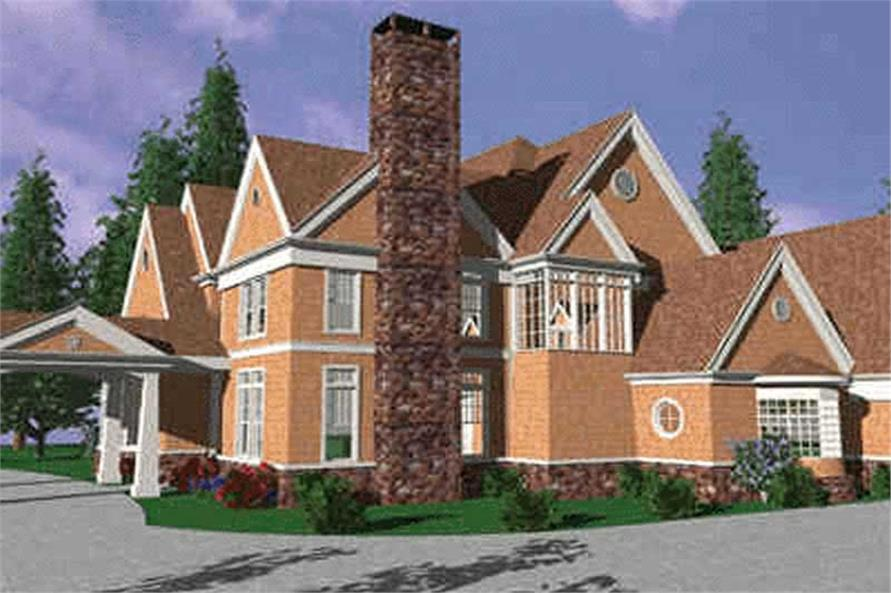 Home Exterior Photograph of this 4-Bedroom,4639 Sq Ft Plan -149-1409