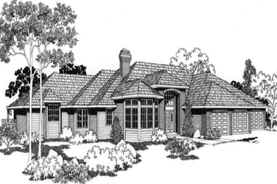 Main image for house plan # 2793