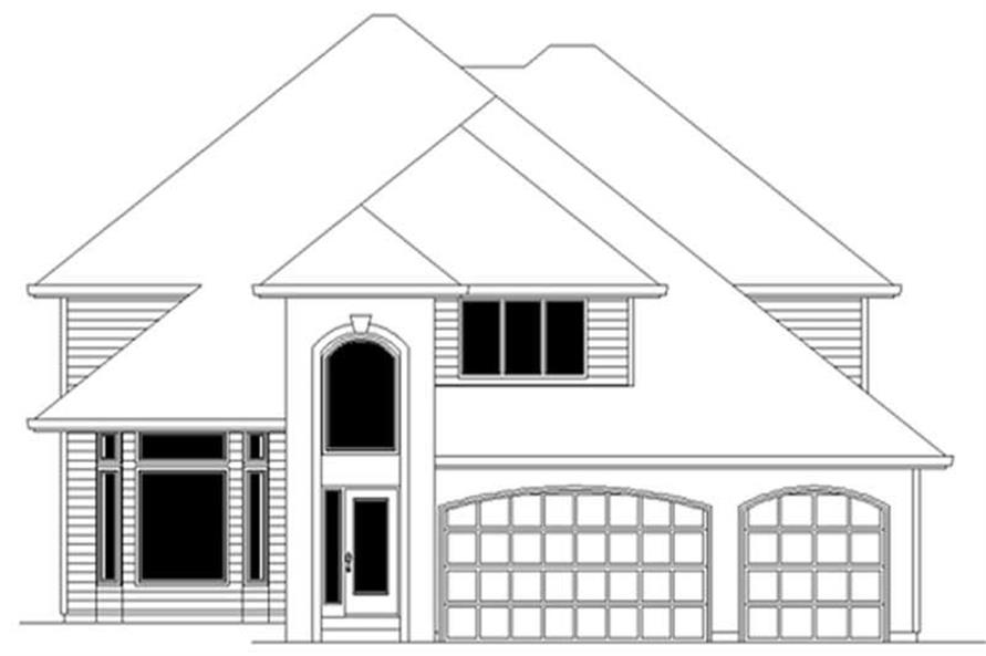 Main image for house plan # 2430