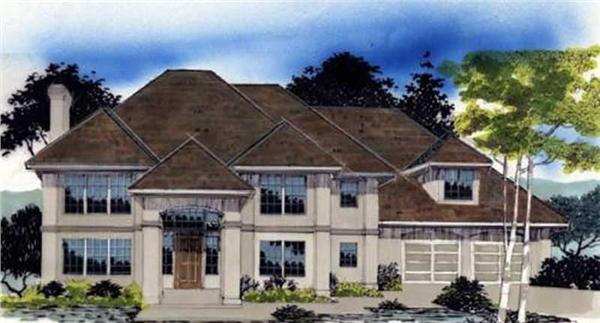 Main image for house plan # 2428