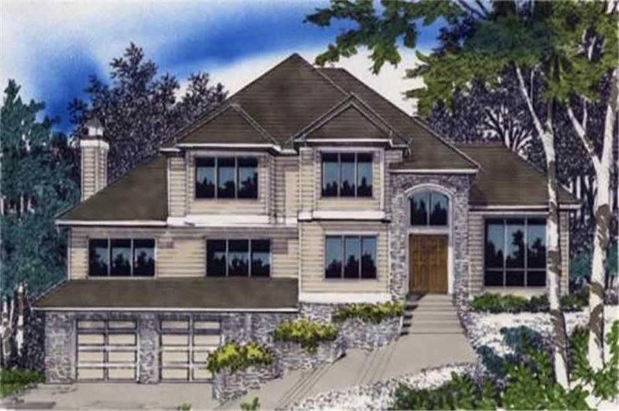 Main image for house plan # 2425