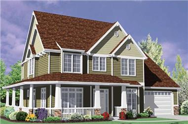 Main image for house plan # 2422