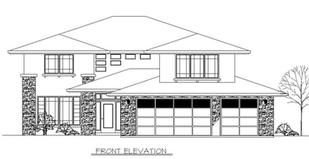 Main image for house plan # 2416