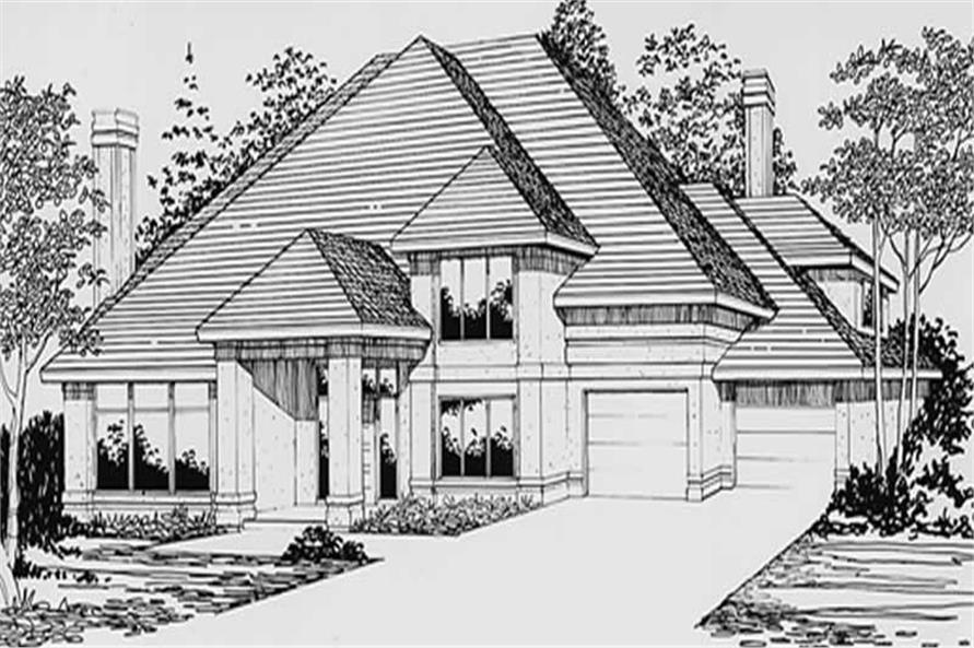 Main image for house plan # 2415
