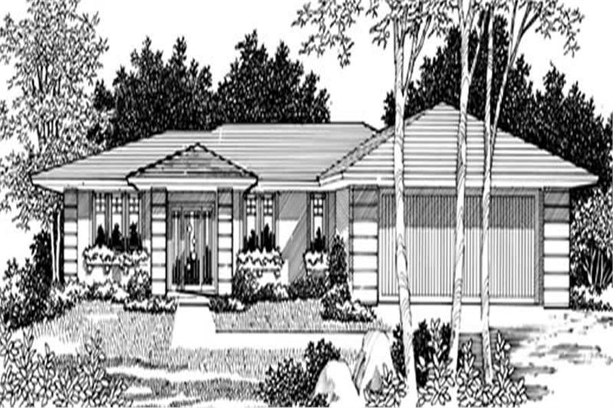 Main image for house plan # 2414