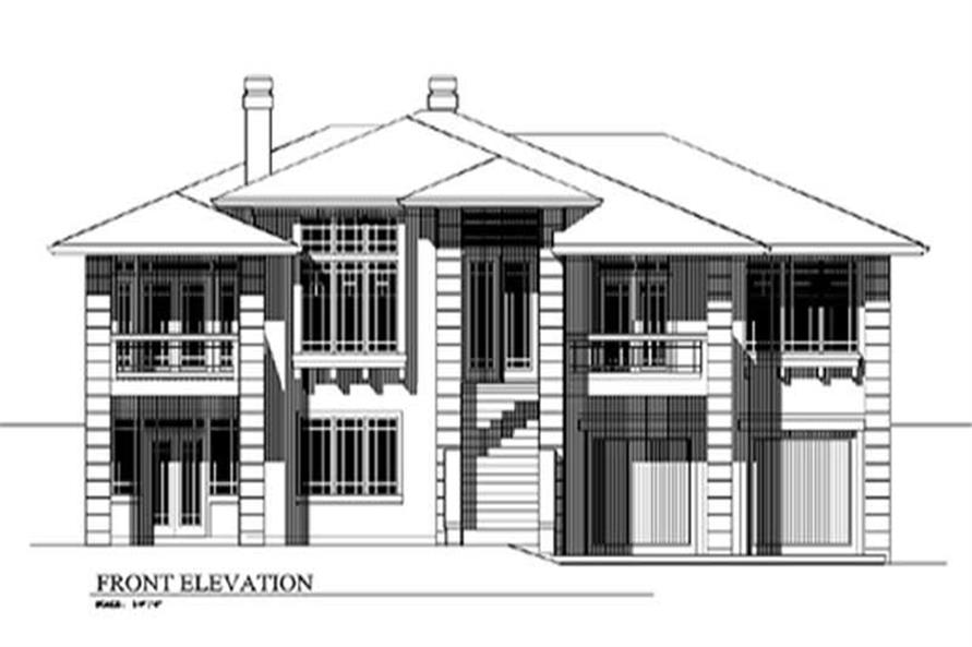 4-Bedroom, 2310 Sq Ft Feng Shui Home Plan - 149-1431 - Main Exterior