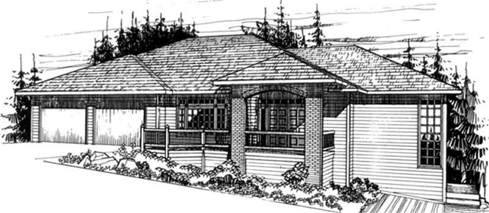 Main image for house plan # 2412