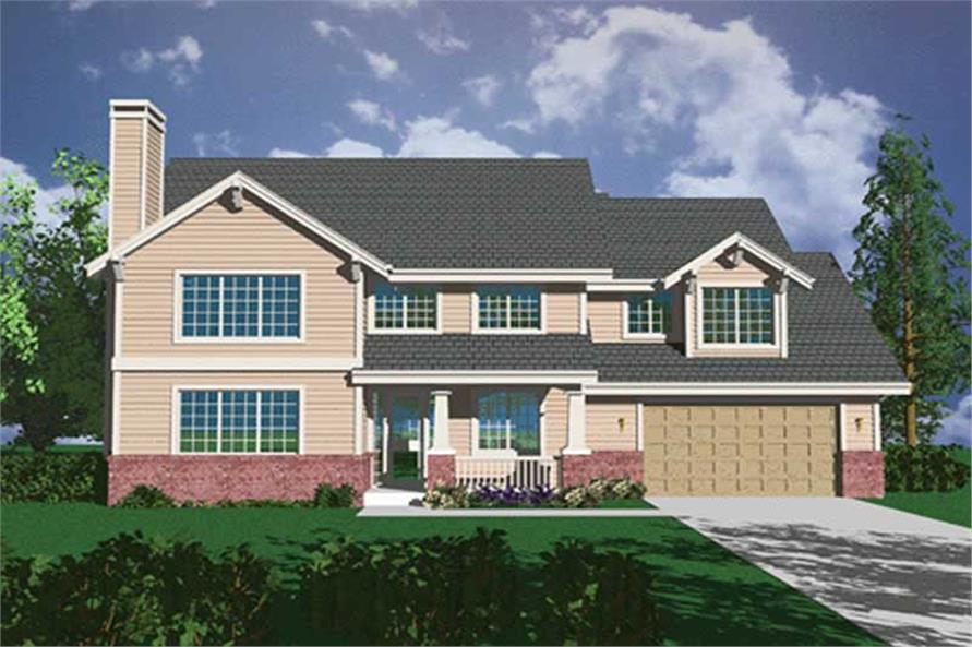 Main image for house plan # 2411