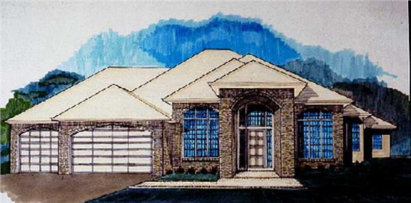 Main image for house plan # 2518