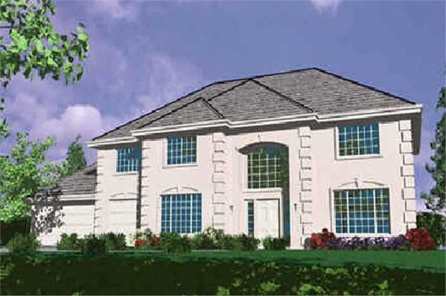 Main image for house plan # 2440