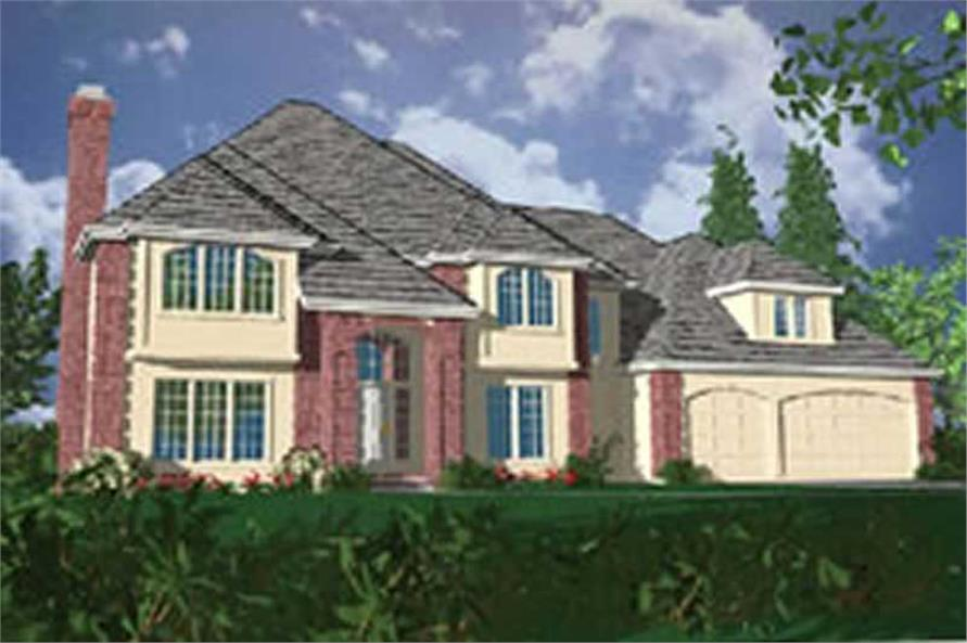 Main image for house plan # 2447