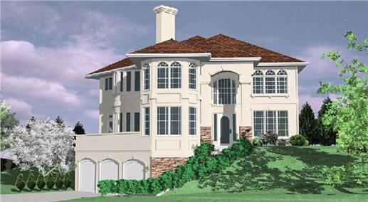 Main image for house plan # 2445
