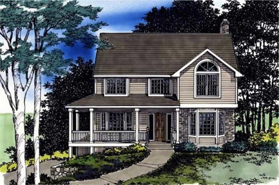 Main image for house plan # 2444