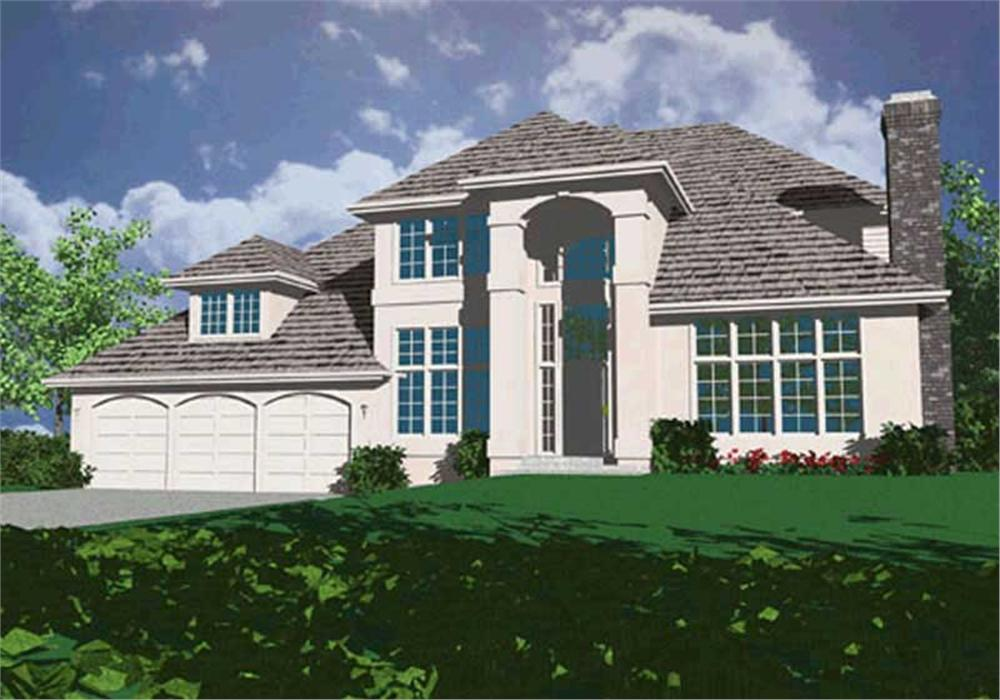 Main image for house plan # 2435