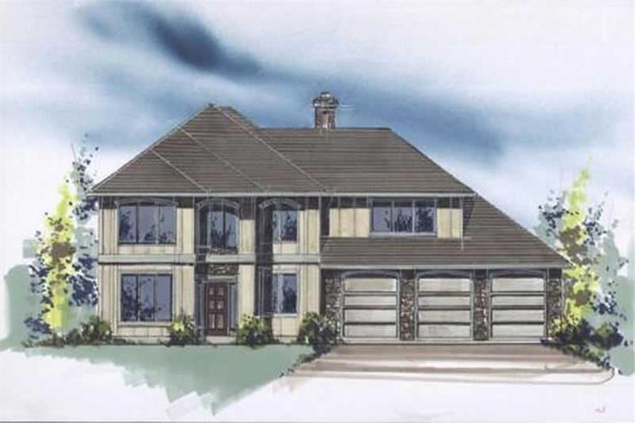 Main image for house plan # 2434