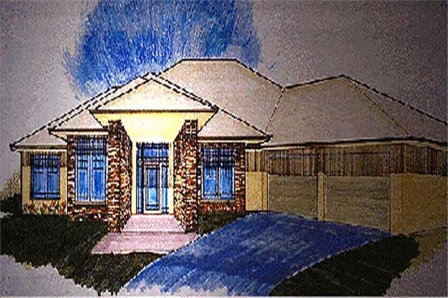 Prairie Plans M-3934 color rendering.