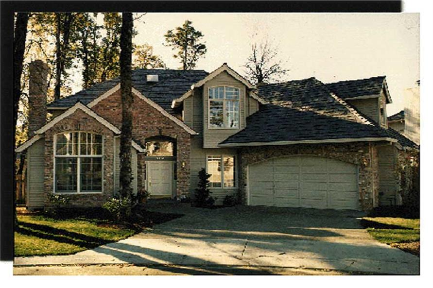 Home Exterior Photograph of this 4-Bedroom,2707 Sq Ft Plan -149-1465