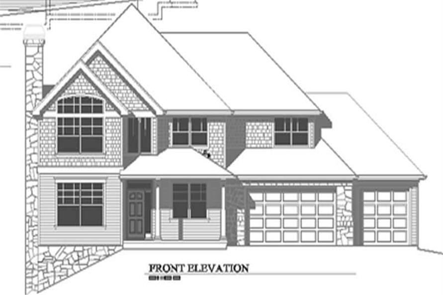 Home Exterior Photograph of this 4-Bedroom,3127 Sq Ft Plan -149-1466