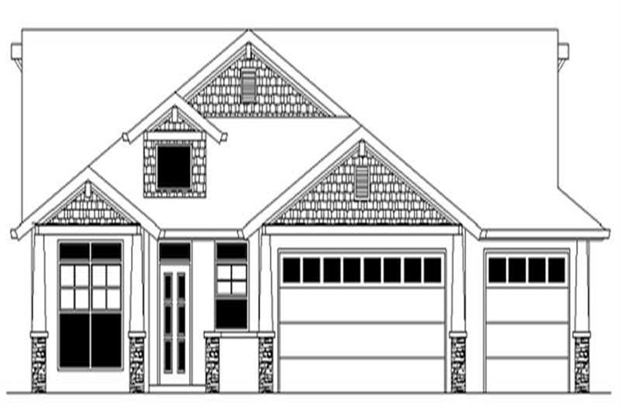 Main image for house plan # 2385