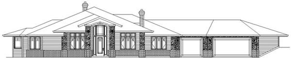 Main image for house plan # 2382