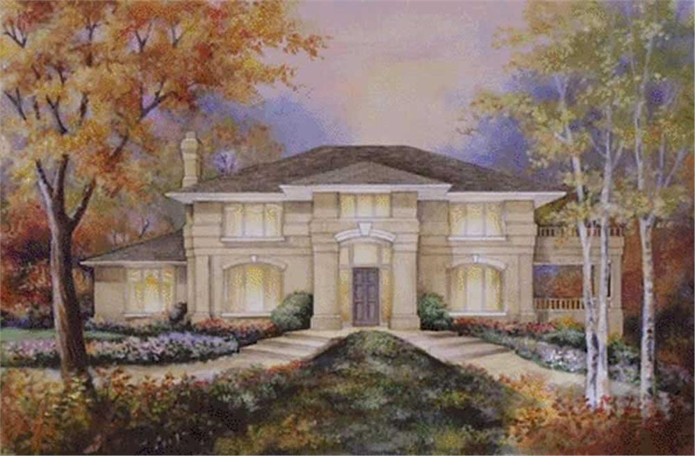 Main image for house plan # 2389