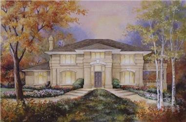 4-Bedroom, 3140 Sq Ft Colonial Home Plan - 149-1478 - Main Exterior