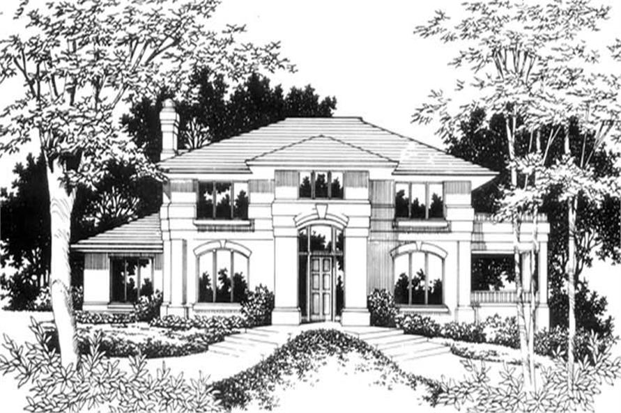 Home Plan Aux Image of this 4-Bedroom,3140 Sq Ft Plan -149-1478