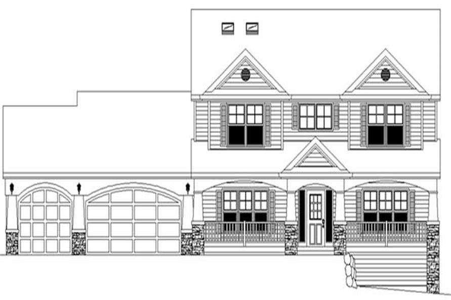 Main image for house plan # 2373