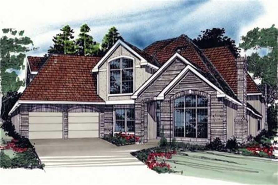 Main image for house plan # 2368