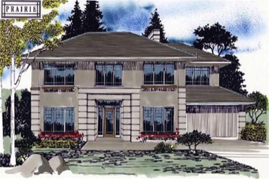 Main image for house plan # 2367