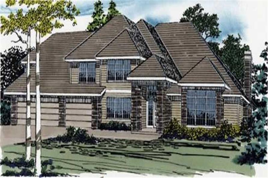 Main image for european house plan # 2366