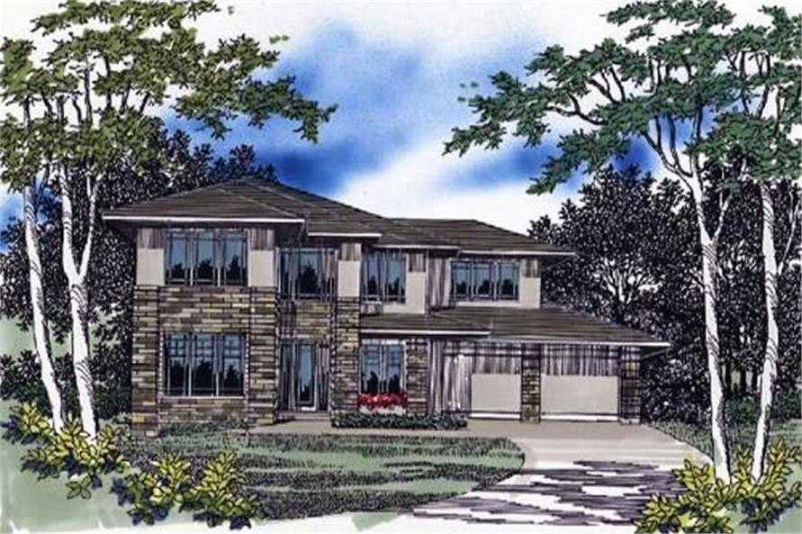 Main image for house plan # 2364