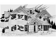 Main image for house plan # 2363