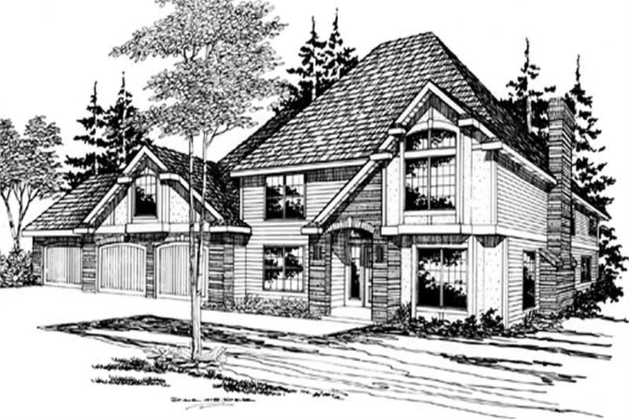 Main image for house plan # 2376
