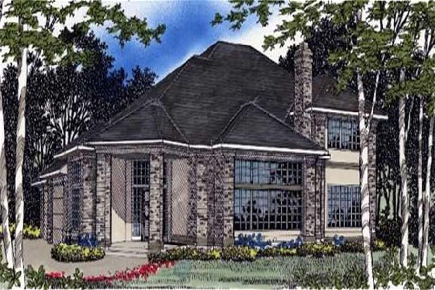 Main image for house plan # 2402