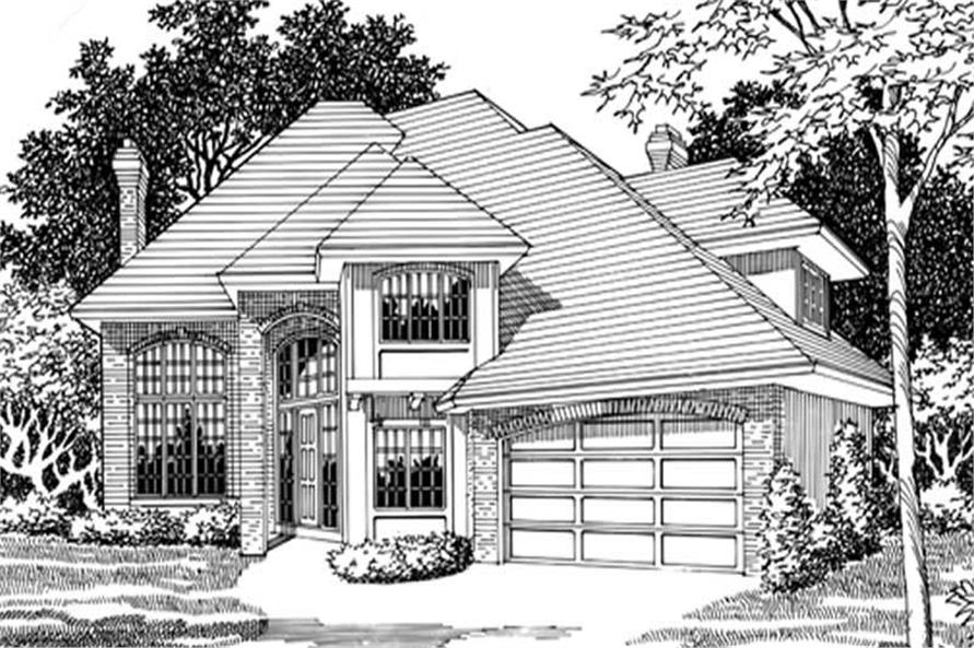 Main image for house plan # 2387