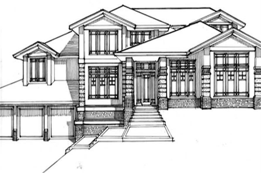 Home Plan Other Image of this 4-Bedroom,3162 Sq Ft Plan -149-1508