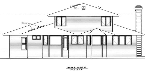149-1509 house plan rear