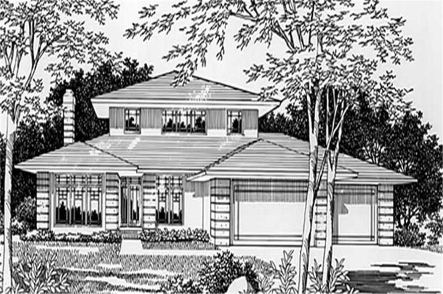 Home Plan Rendering of this 4-Bedroom,3162 Sq Ft Plan -149-1509