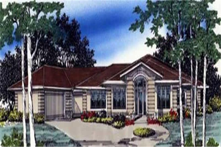 4-Bedroom, 3152 Sq Ft Craftsman Home Plan - 149-1512 - Main Exterior