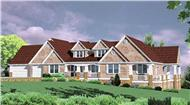 Main image for luxury house plan # 2353