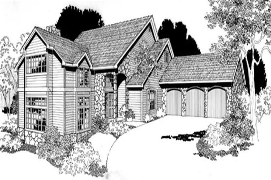 Home Plan Other Image of this 4-Bedroom,2820 Sq Ft Plan -149-1536