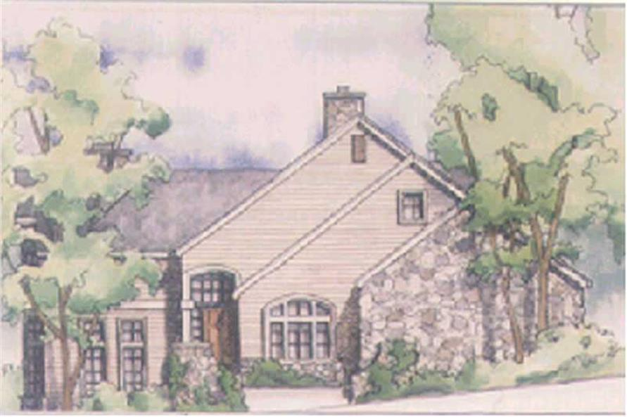 4-Bedroom, 2820 Sq Ft European Home Plan - 149-1536 - Main Exterior