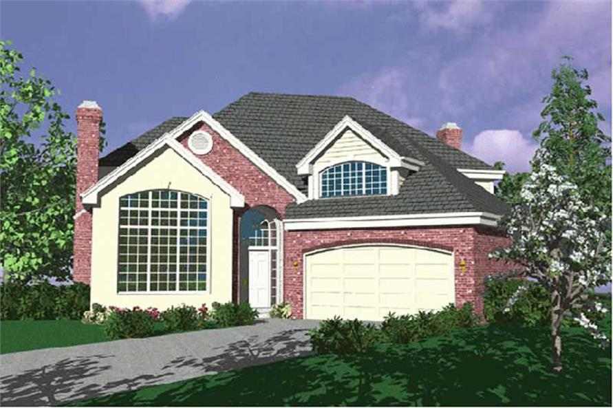 Main image for house plan # 2496