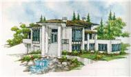 Main image for contemporary house plan # 2352