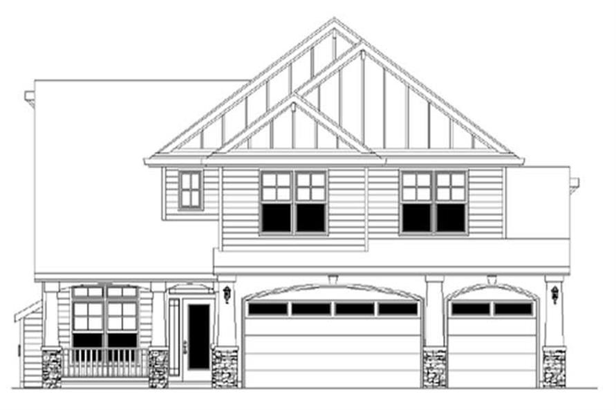4-Bedroom, 2725 Sq Ft Country Home Plan - 149-1547 - Main Exterior