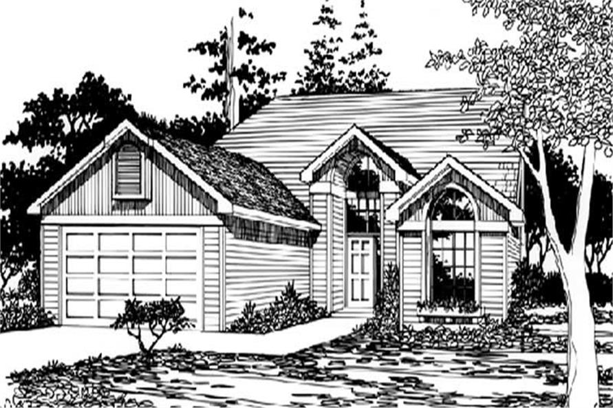 House Plan Small Home Design: Small, Feng Shui, Ranch House Plans