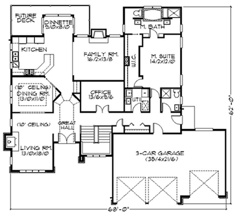 floor plan for a house house plan 149 1560 3 bedroom 2174 sq ft craftsman home tpc msap 2174 5128
